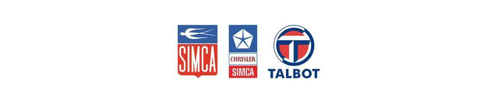 Chrysler - SIMCA - TALBOT